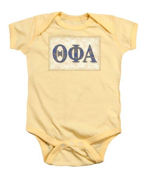 Theta Phi Alpha - Parchment Baby Onesie