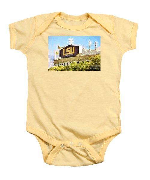 Tiger Stadium - Bw Baby Onesie