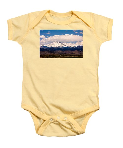 Twin Peaks Snow Covered Baby Onesie by James BO  Insogna
