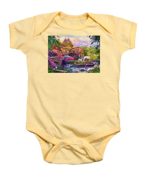 Baby Onesie featuring the photograph Light Palace by Jan Patrik Krasny