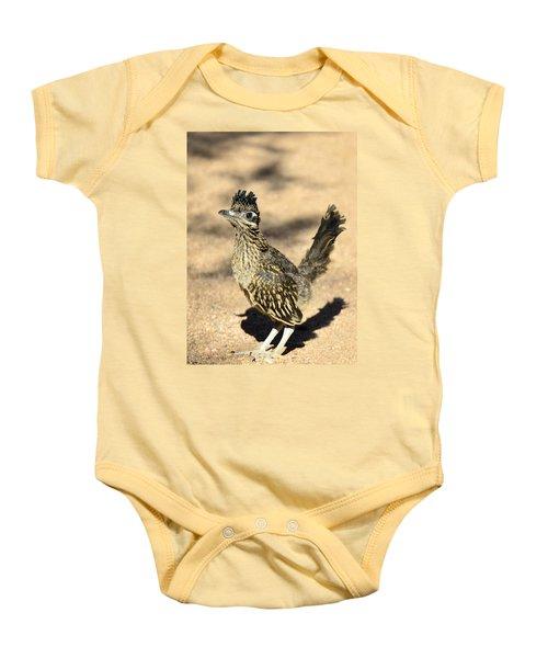 A Baby Roadrunner  Baby Onesie by Saija  Lehtonen