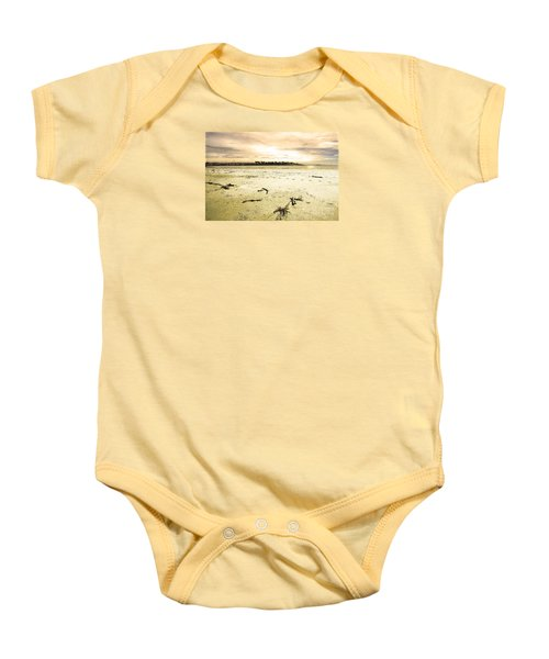 Baby Onesie featuring the photograph At Caroline Bay Timaru New Zealand by Nareeta Martin