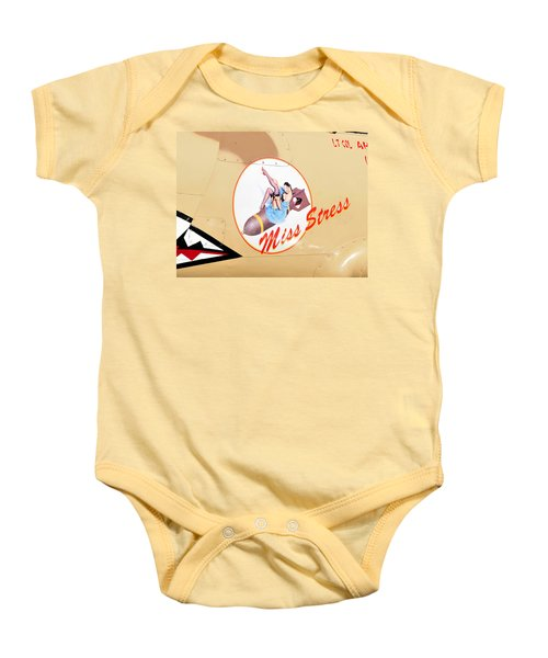Miss Stress Baby Onesie by David Lee Thompson
