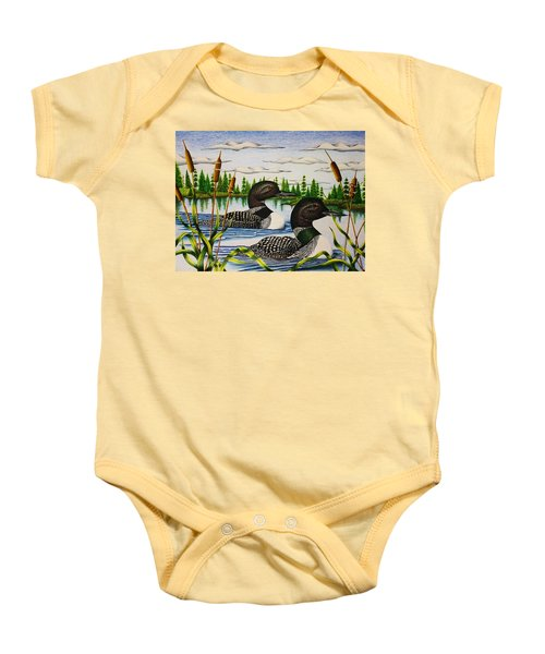 Morning Swim Baby Onesie