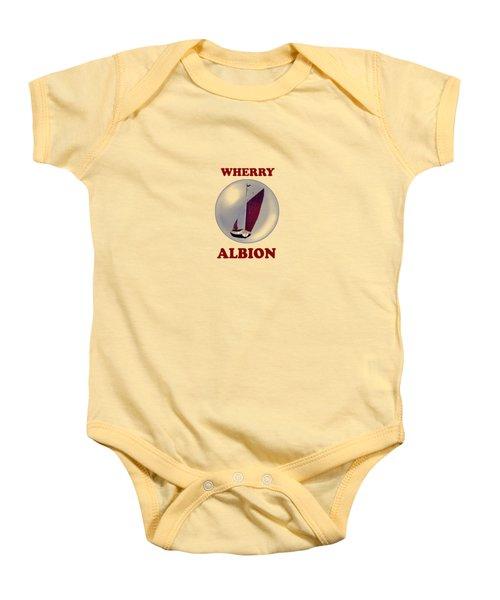 The Wherry Albion Baby Onesie