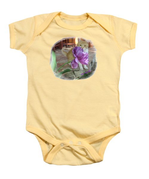 You See Me Baby Onesie by Vesna Martinjak