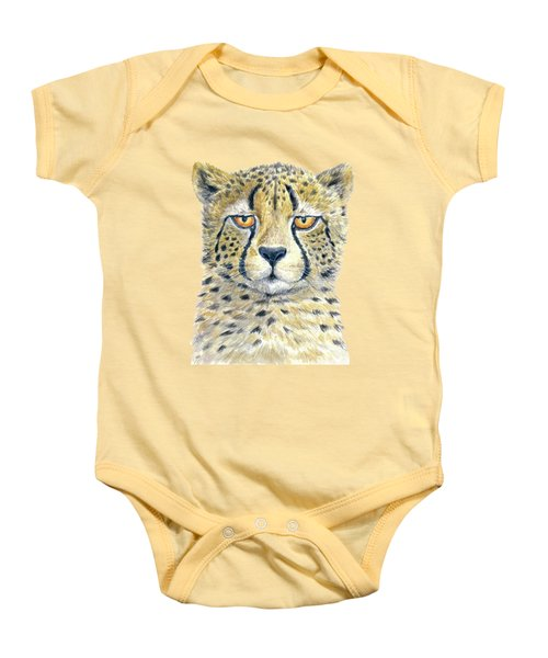 Cheetah Baby Onesie by Katerina Kirilova