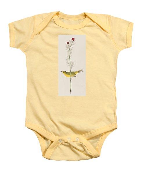 Hooded Warbler Baby Onesie