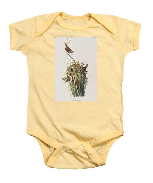 Marsh Wren  Baby Onesie