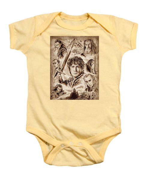 Middle Earth Baby Onesie