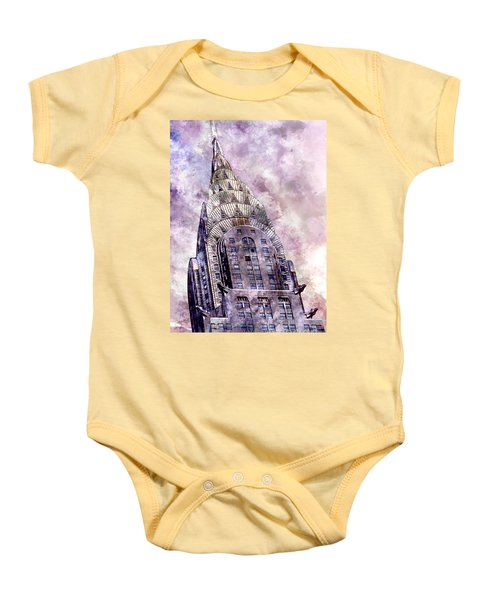 The Chrysler Building Baby Onesie by Jon Neidert