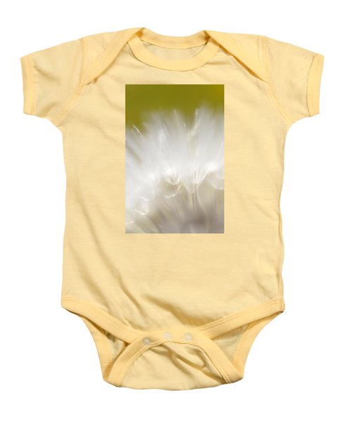 White Blossom 1 Baby Onesie