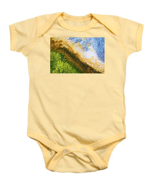 Yellowstone Abstract Baby Onesie