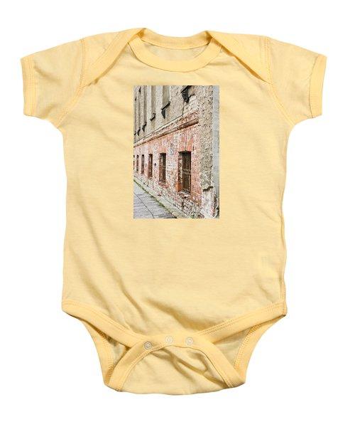 Derelict Building Baby Onesie