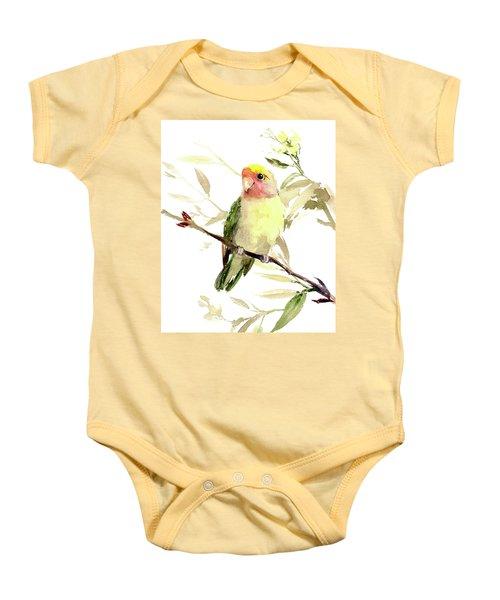 Lovebird Baby Onesie
