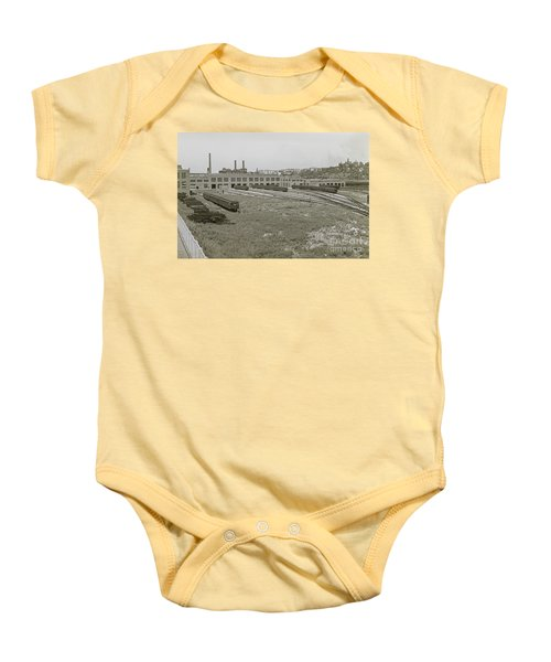 207th Street Railyards Baby Onesie