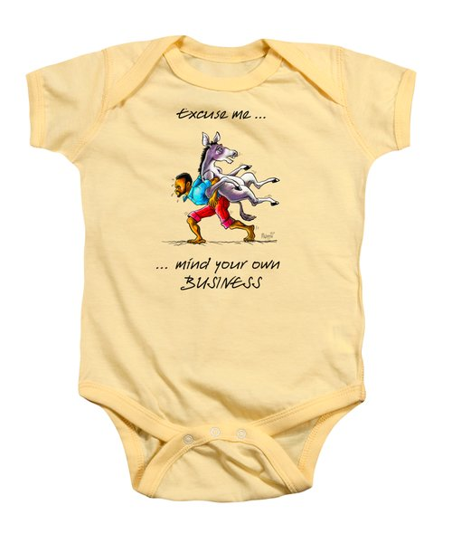 A Different Approach Baby Onesie by Anthony Mwangi