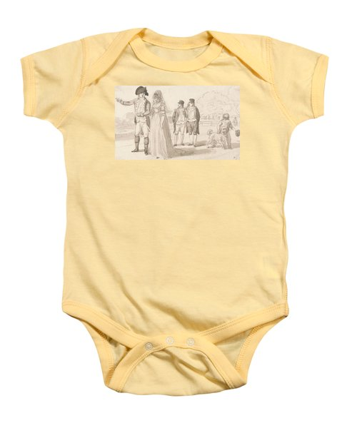 A Family In Hyde Park Baby Onesie