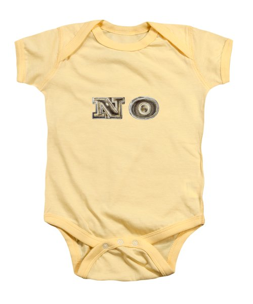A Simple No Baby Onesie by YoPedro