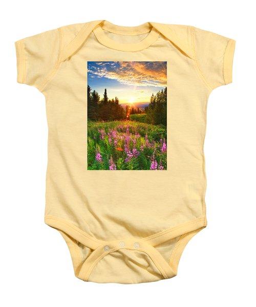 Alaska Field Baby Onesie