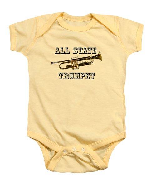All State Trumpet Baby Onesie