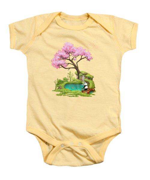 Anjing II - The Zen Garden Baby Onesie