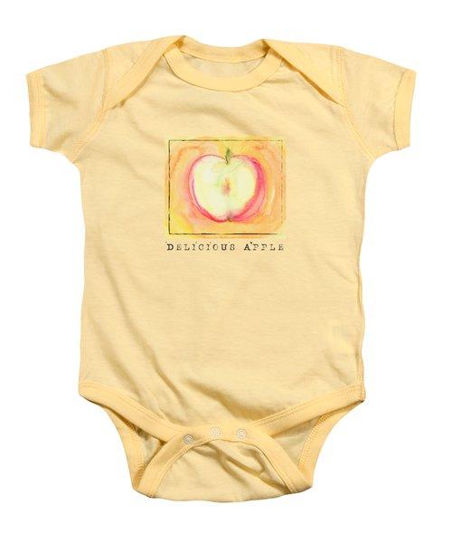Delicious Apple Baby Onesie