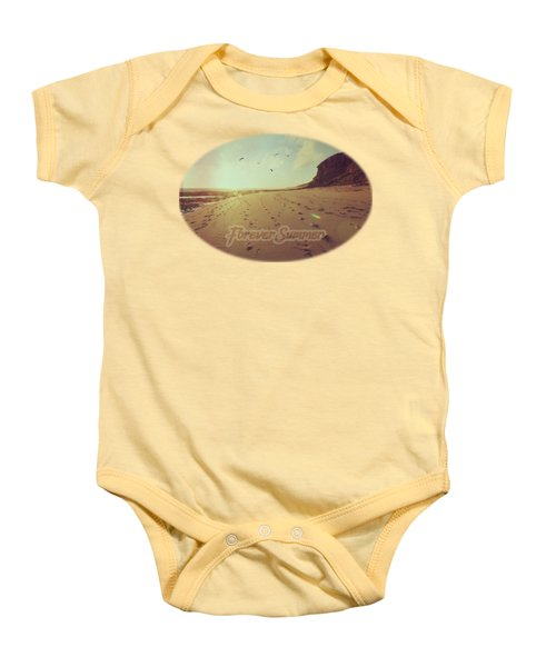 Baby Onesie featuring the photograph Forever Summer 9 by Linda Lees