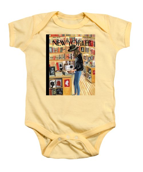 At The Strand Baby Onesie