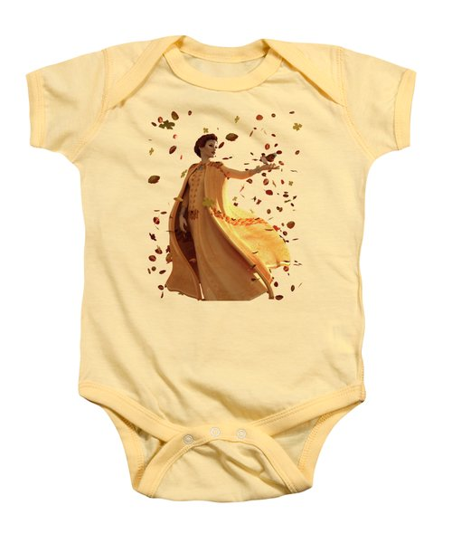 Autumn Baby Onesie by Methune Hively