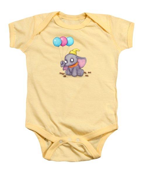 Baby Elephant  Baby Onesie