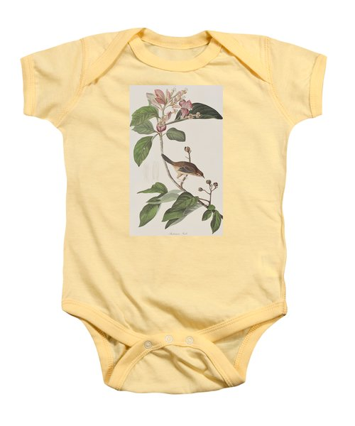 Bachmans Sparrow Baby Onesie by John James Audubon