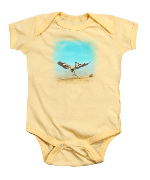 Beach Dancing Baby Onesie by Jai Johnson