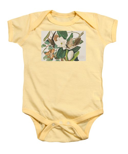 Black Billed Cuckoo Baby Onesie