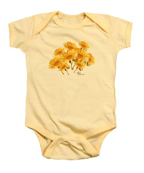 Bouquet Of Daisies Baby Onesie