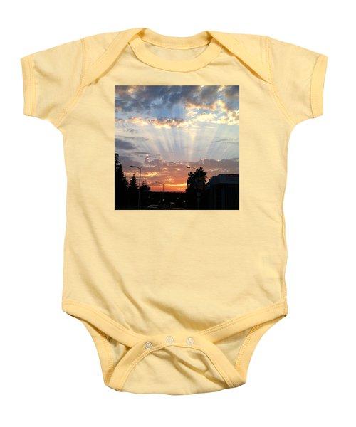 #california #sunset #nature Baby Onesie