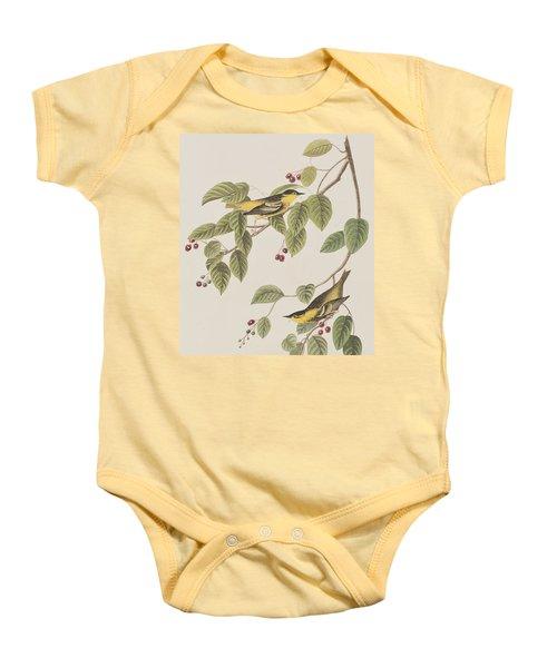 Carbonated Warbler Baby Onesie