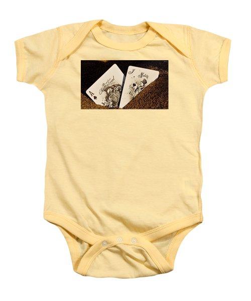 Card Baby Onesie