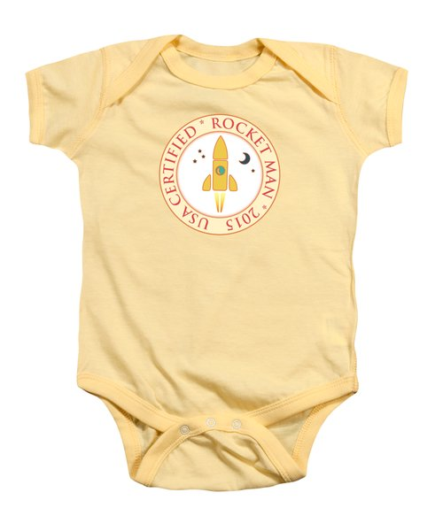 Certified Rocket Man Baby Onesie
