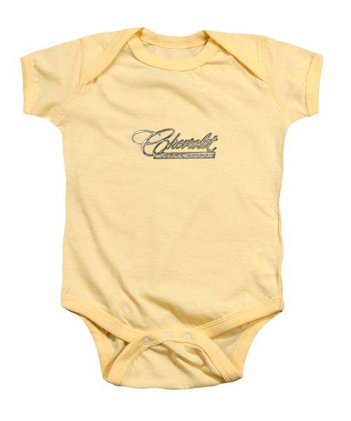 Chevrolet Vega Emblem Baby Onesie