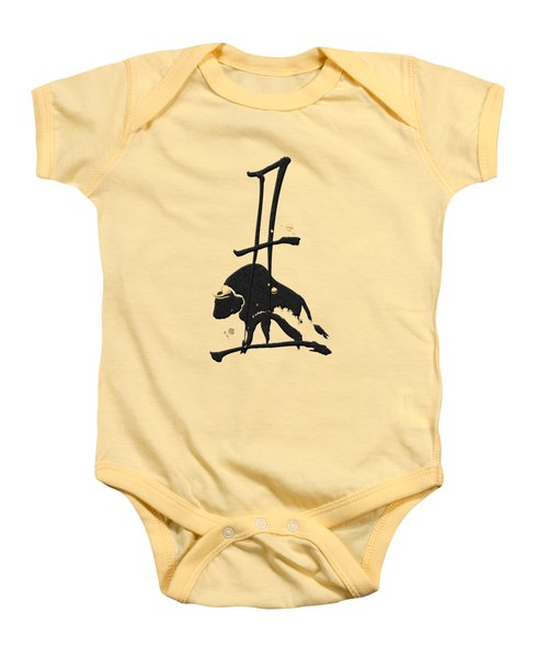 Chinese Zodiac - Year Of The Ox On Rice Paper Baby Onesie