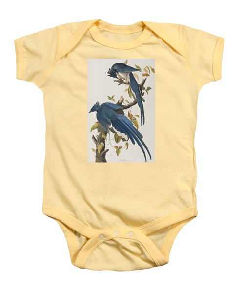 Columbia Jay Baby Onesie by John James Audubon