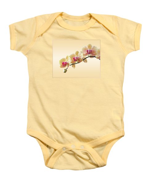 Cream Delight Baby Onesie by Gill Billington