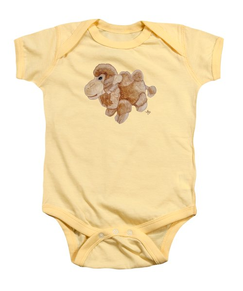 Cuddly Camel Baby Onesie by Angeles M Pomata