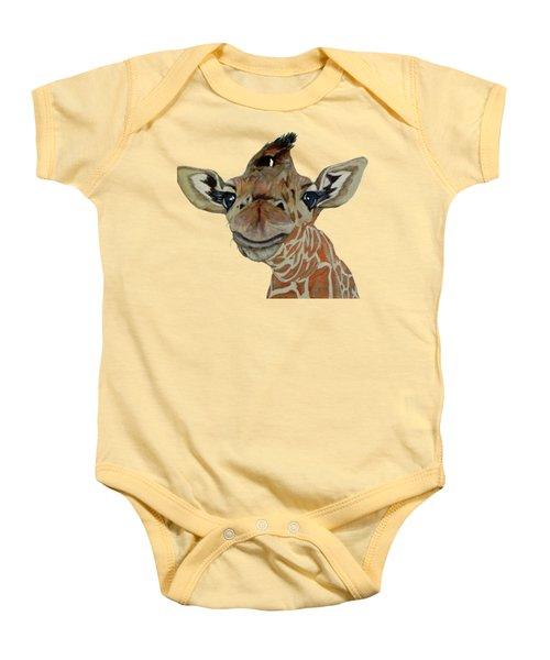 Cute Giraffe Baby Baby Onesie