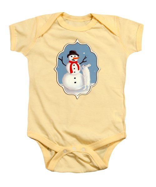 Baby Onesie featuring the painting Don't Eat My Nose by Anastasiya Malakhova