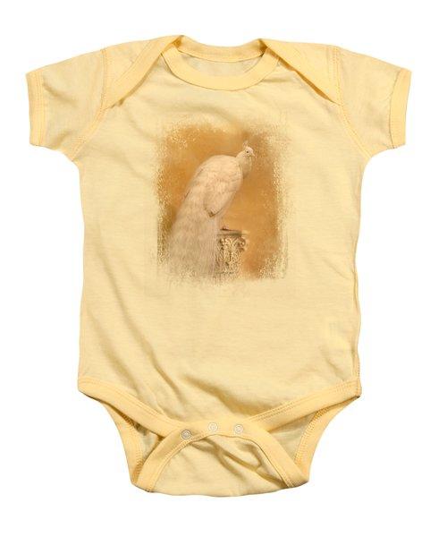 Elegance In Gold Baby Onesie by Jai Johnson
