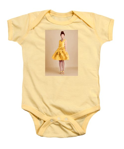 Baby Onesie featuring the digital art Emma by Nancy Levan