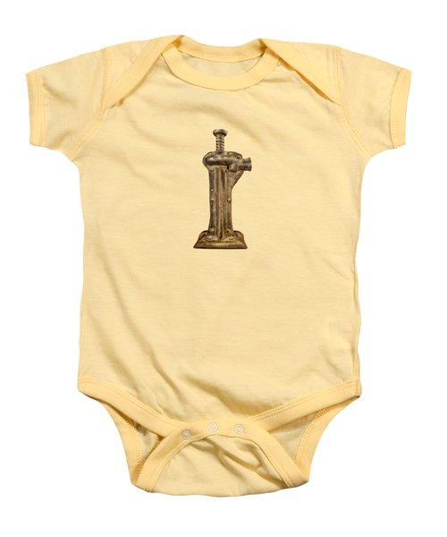 Enclosed Screw Jack II Baby Onesie