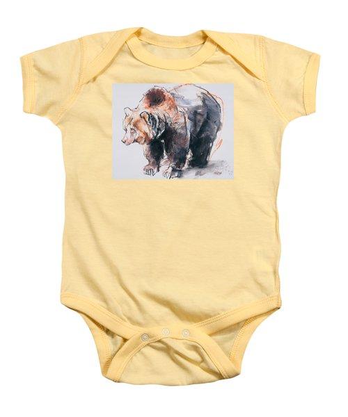 European Brown Bear Baby Onesie